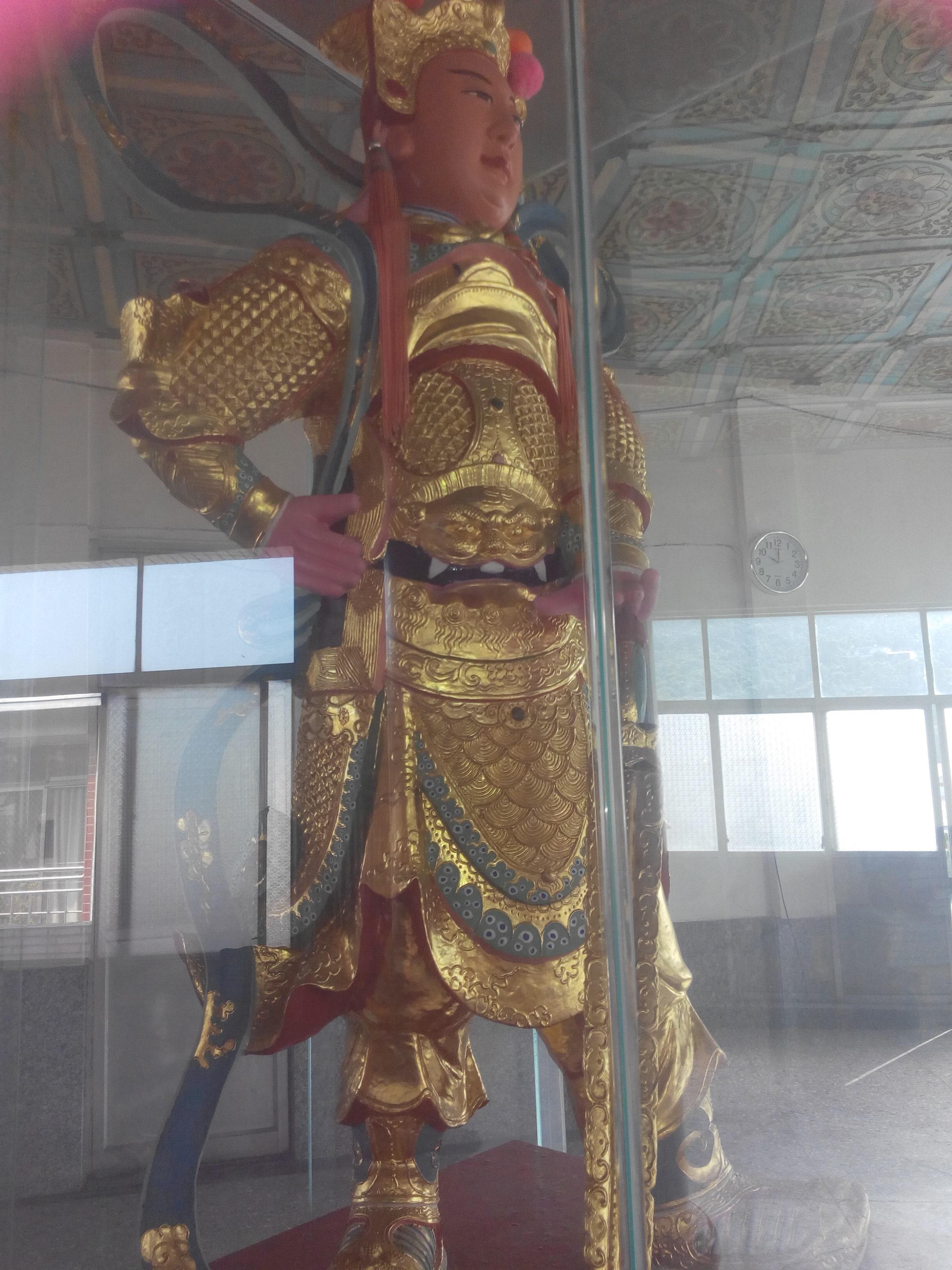 圖示:碧岸寺三樓-韋馱護法尊天菩薩