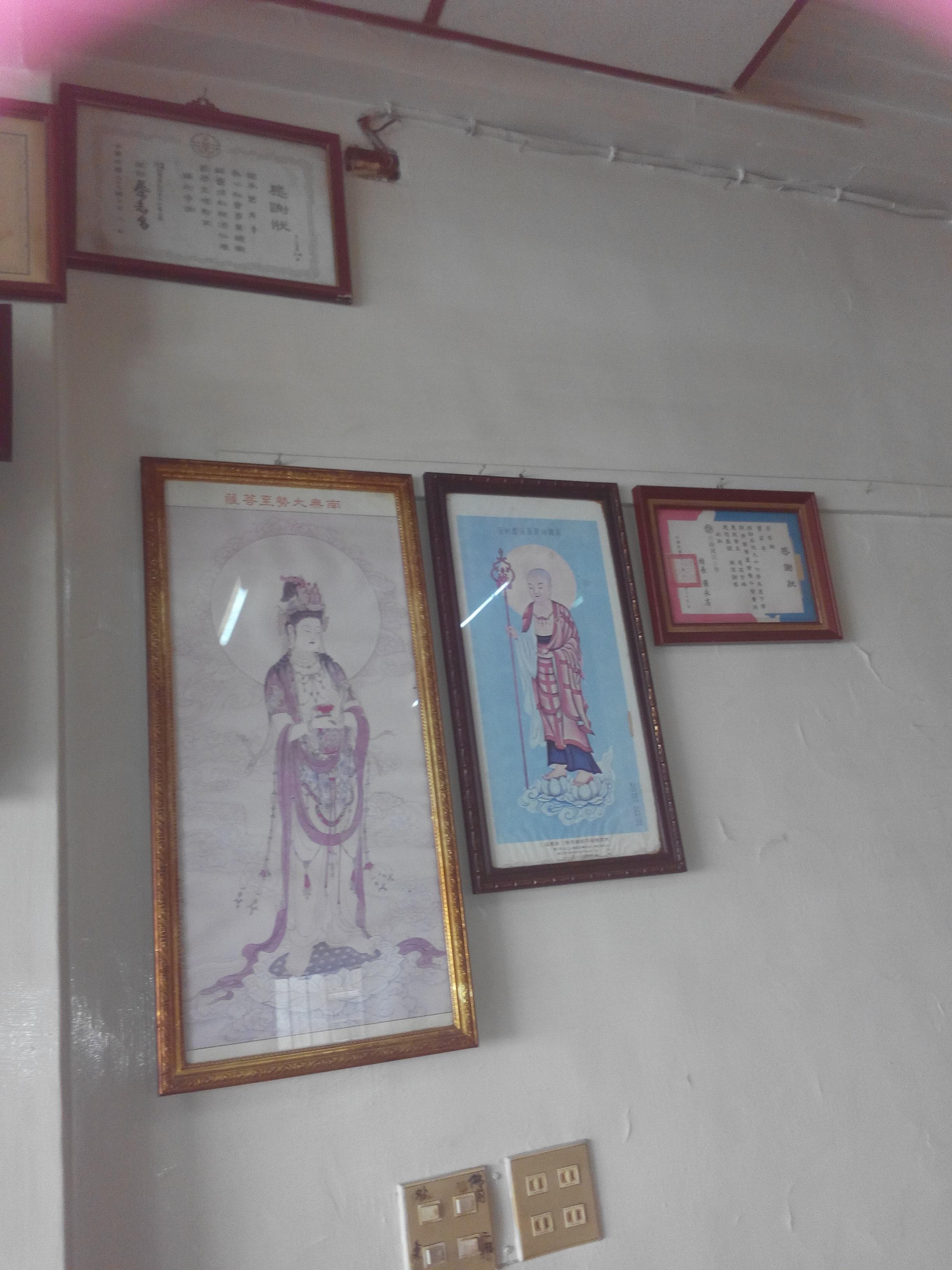 一樓菩薩圖像