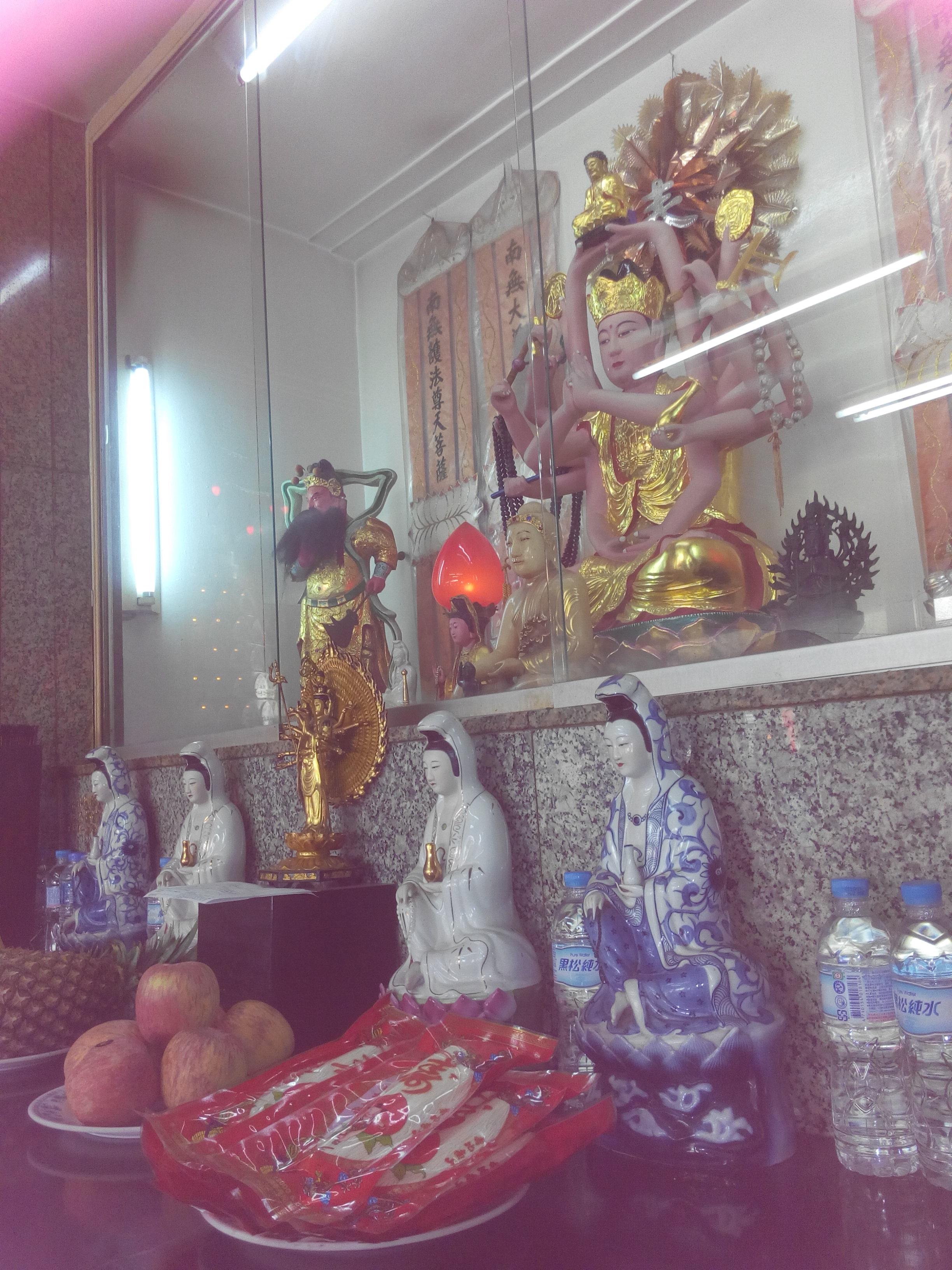 碧岸寺一樓--伽藍護法菩薩